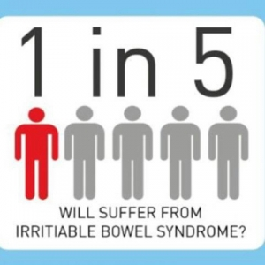 1 in 5 suffer from IBS
