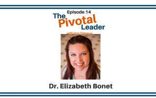 Pivotal Leader Dr. Elizabeth Bonet on how to manage work anxiety.