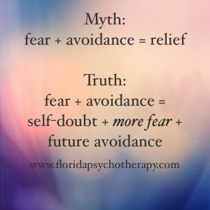 Decrease fear and anxiety with treatment in Broward County