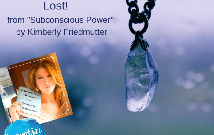 free hypnosis find something you lost kimberly friedmutter