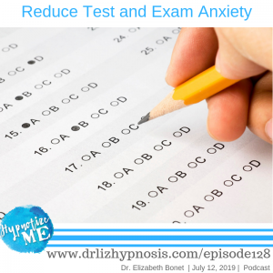 Reduce test and exam anxiety
