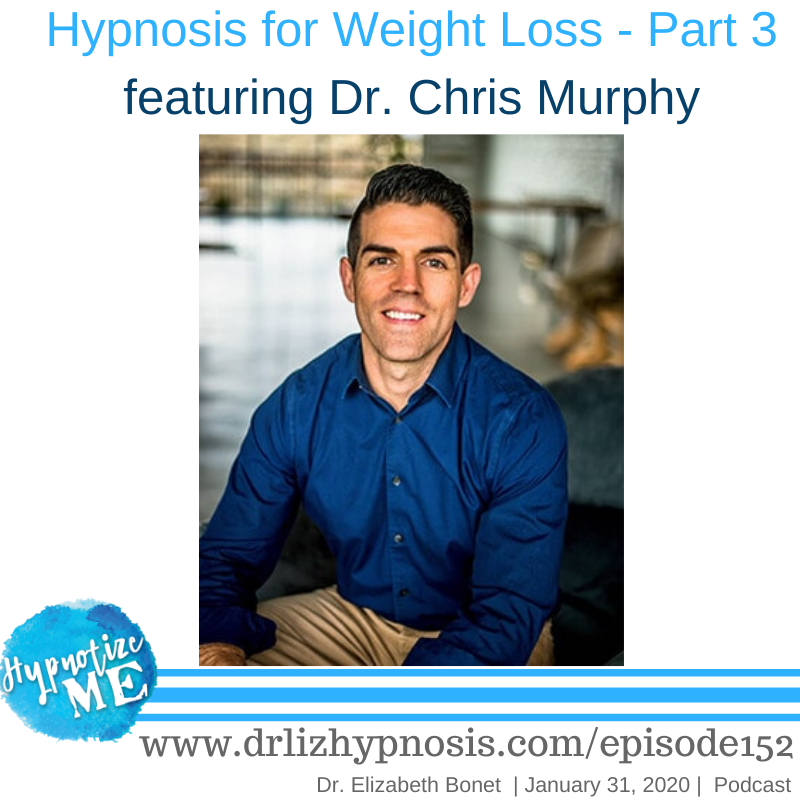 HM152 Hypnosis for Weight Loss Part 3 with Dr Chris Murphy