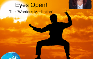 HM196 Free Meditation Eyes Open Warriors Meditation