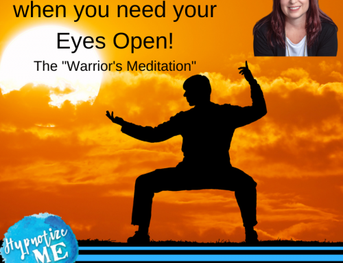 HM196 FREE Meditation for when your Eyes need to be Open – The Warrior's Meditation