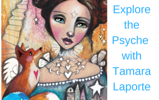 art to reduce anxiety artist Tamara Laporte