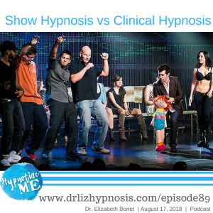 Show Hypnosis vs Clinical Hypnosis