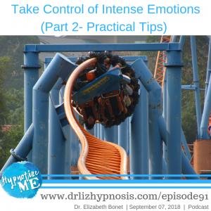Control Intense Emotions DBT