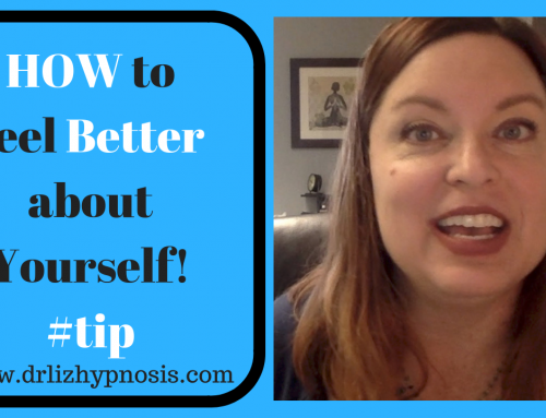 HOW to feel better about yourself with Dr  Liz
