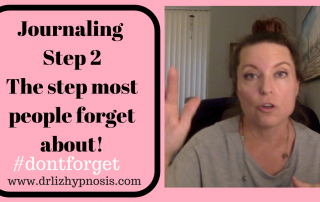 Journaling Step 2 with Dr Liz