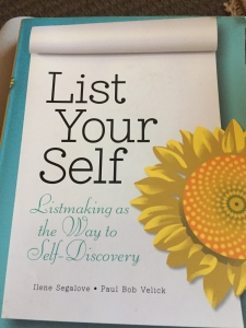 A book of lists and a great resource to focus your mind and decrease anxiety. hypnosis broward