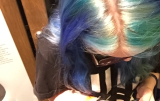 Do you have a blue-haired teen?