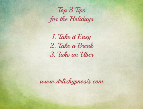 Top 3 Tips for dealing with the Holidays!