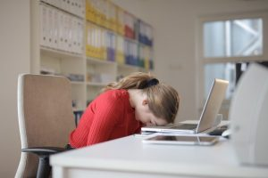 asleep at the laptop insomnia treatment hypnosis