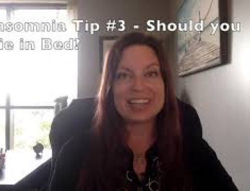Insomnia Tip #3 – Should you Lie in Bed with Dr Liz